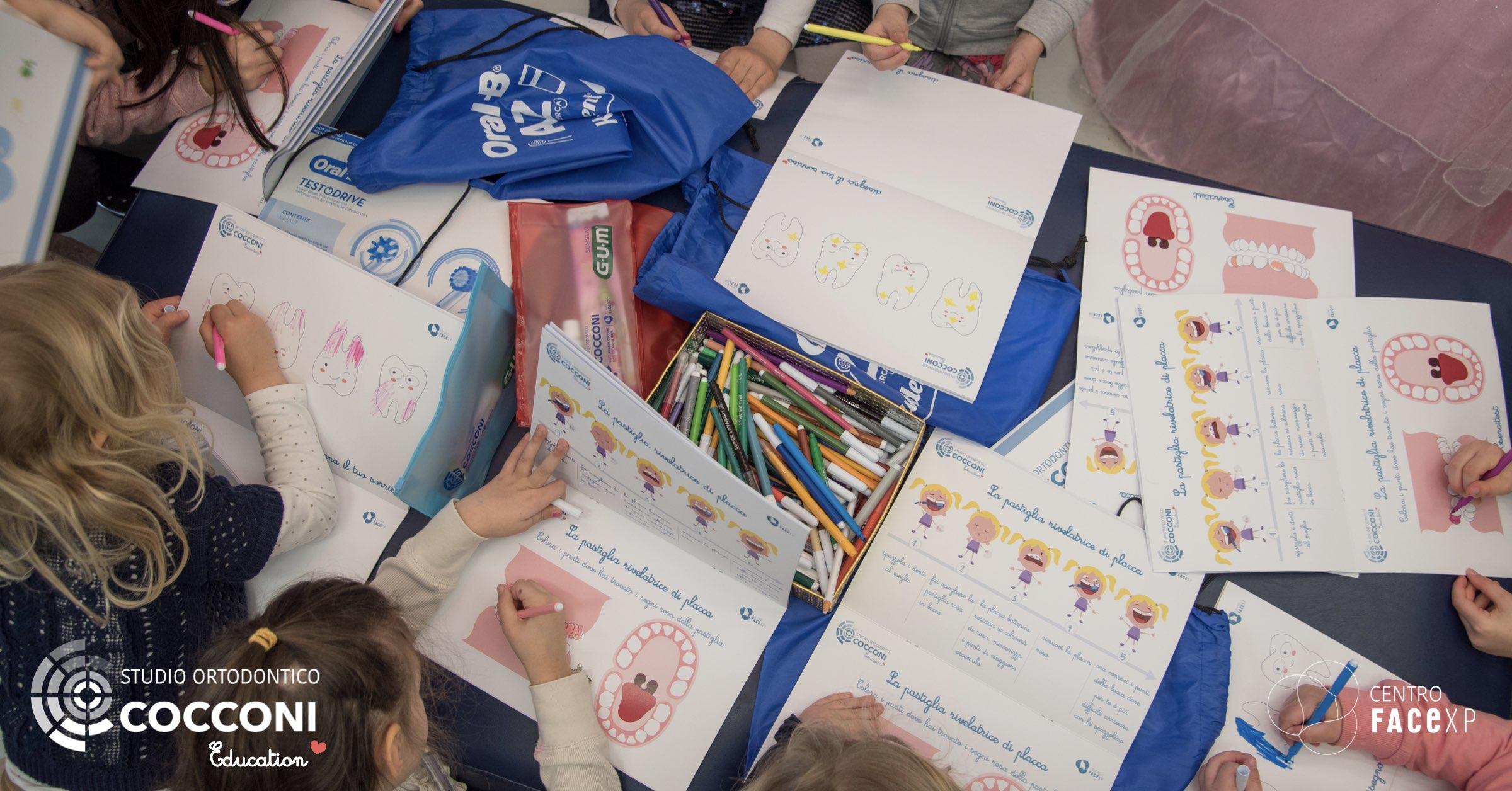 Prevenzione è Salute - i bambini con i colori